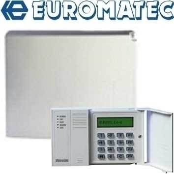 Euromatec Alarm Control Panels and System Components